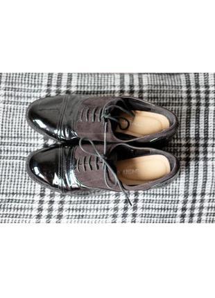 Крутые туфли f&f
