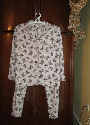Пижама tu, 100% хлопок, размер 14