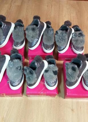 Ботинки / высокие кроссовки деми на девочку размеры 24-29