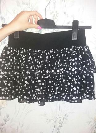 Легкая нарядная юбочка