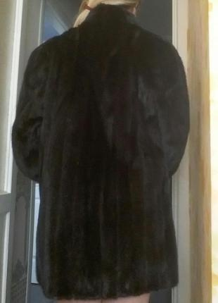 Норковая шуба5 фото