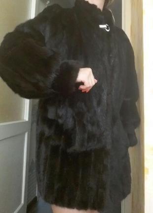 Норковая шуба4 фото