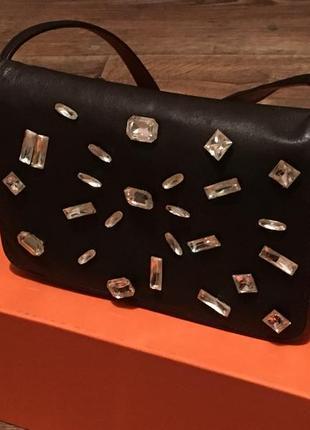 Натуральная кожаная сумочка
