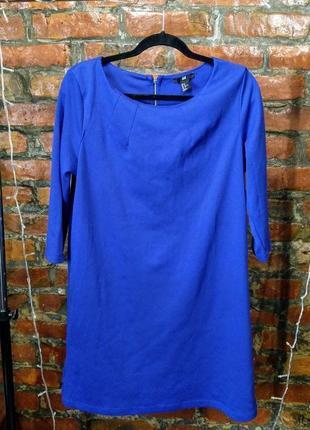Стильное базовое платье из костюмного трикотажа h&m