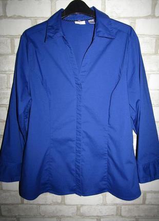 Синяя рубашка р-р 14-хл бренд lee