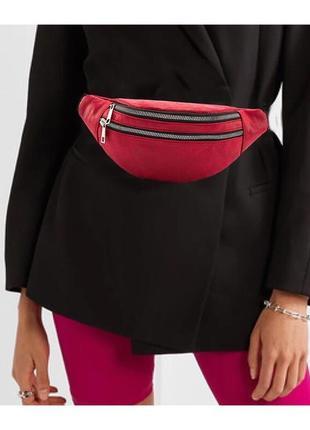 Трендова жіноча бананка,сумка на пояс,женская сумка,клатч