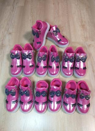 Невероятные хайтопы / кроссовки / ботинки деми на девочку размеры 25-30
