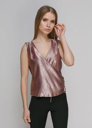 Блуза zara на запах2 фото