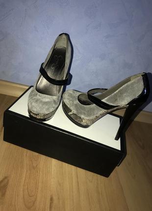 Туфли на высоком каблуке jessica simpson