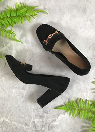 Стильные туфли на устойчивом каблуке  sh1933070 asos
