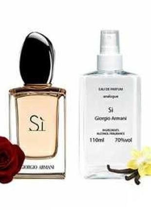 Giorgio armani si парфюмированная вода 110 ml