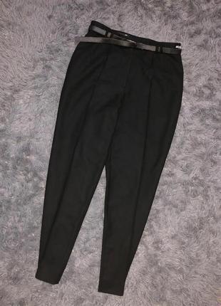 Стильные брюки классика черные michele