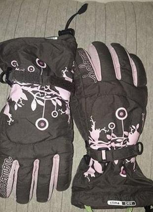 Лыжные перчатки - salomon размер м (10 лет)