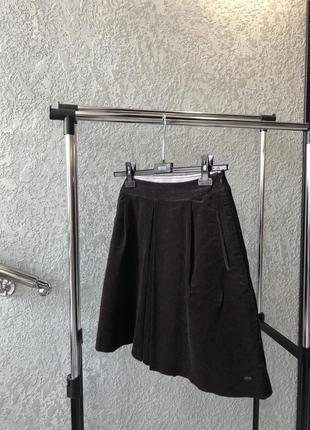 Вельветовая юбка tommy hilfiger2 фото