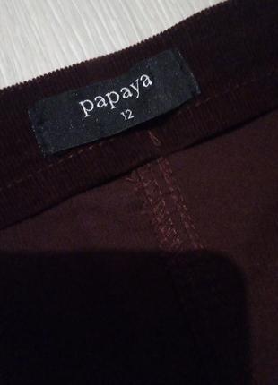 Брендовая юбка трапецией микровильвет4 фото