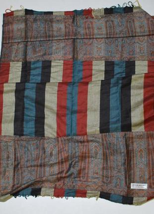 Шарф пашмина pashmina 30 silk 70 cashmere 70 x 200
