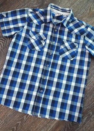 Рубашка на мальчика на р. 146-152 см