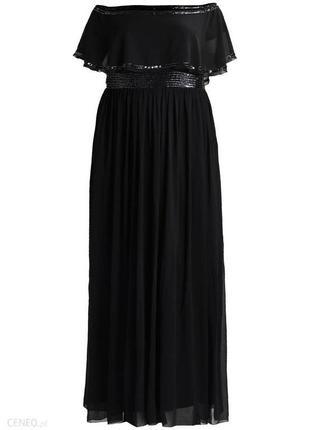 Роскошное вечернее платье с изящно оголенными плечами4 фото