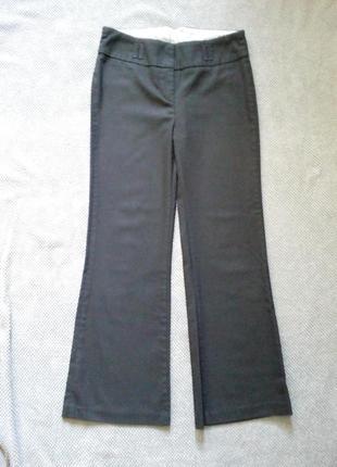 Чорні класичні брюки-кльоші