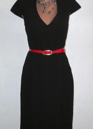 Роскошное черное платье от h&m стройнит размер: 50-l, xl
