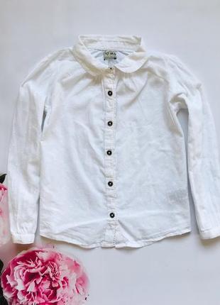 I love next  стильная  батистовая блузка на девочку 4-5 лет