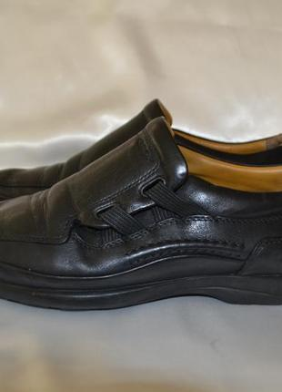 Кожаные туфли geox, р. 41