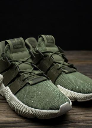 Мужские кроссовки adidas prophere green/red b37463 оригинал р-44