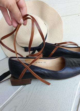 Кожаные туфли robert clergerie