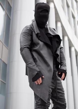 Кожаная куртка legacy raw
