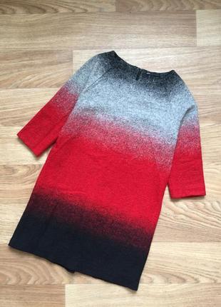 Теплое платье-туника mango