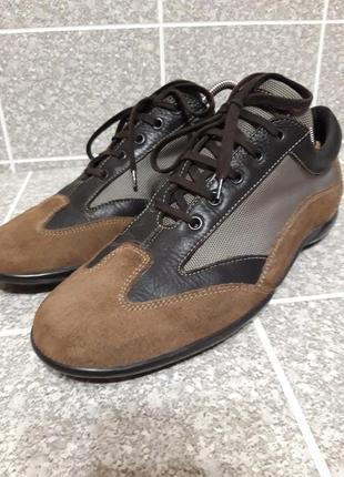 Мужские кожаные спортивные туфли samsonite
