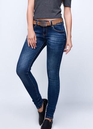 Темно-синие джинсы №1dj