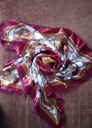 Винтажный платок от hermes paris