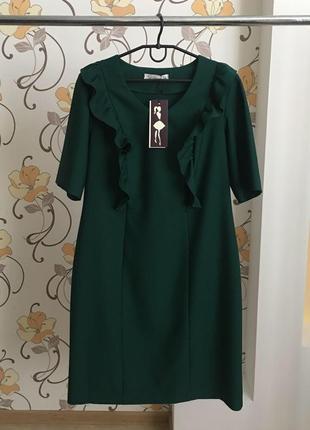 Стильное , дизайнерское платье на большой размер от бренда seam {44-46 европ. р.}