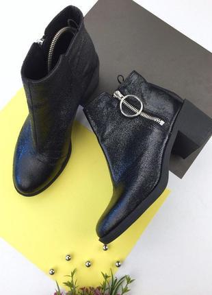 Стильные ботинки на толстом каблуке от h&m