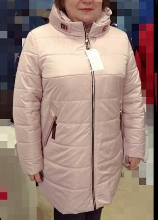 Куртка с термоподкладкой, размер 60