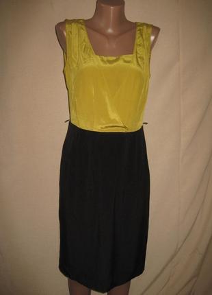 Платье из натурального шелка спенсер р-р10