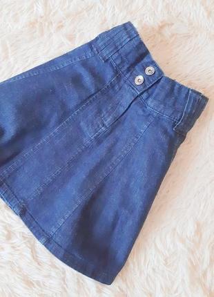 Качественная джинсовая юбочка от cherokee