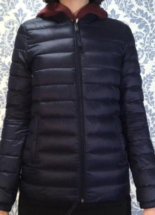 Дутая стёганая куртка stradivarius