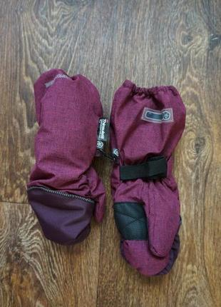 Лыжные рукавички варежки перчатки crivit thinsulate