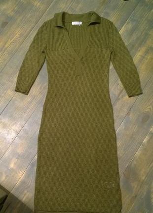 Платье футболка поло topshop