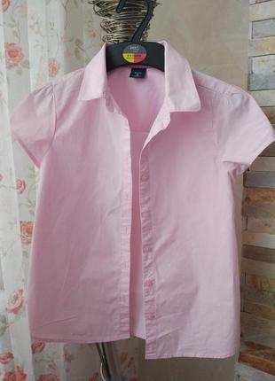 Школьная блузка, рубашка 7-8лет