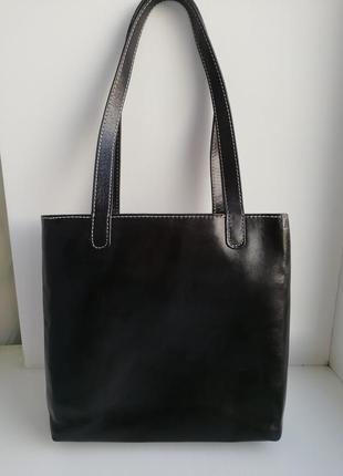 Шкіряна фірмова сумка шоппер американського бренду fossil!!! оригінал!!!