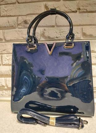Элегантная кожаная сумка