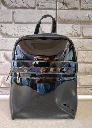 Кожаный натуральный рюкзак1 фото