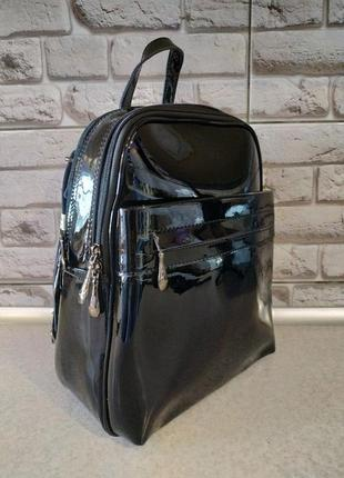 Кожаный натуральный рюкзак4 фото