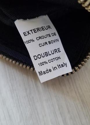 Laurence dolige paris  кожаный женский клатч. оригинал.3 фото