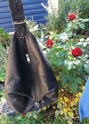 Крутой рюкзак из натуральной кожи5 фото