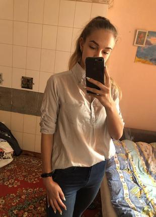 Рубашка с кармашками
