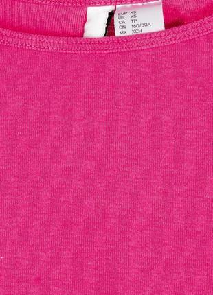 Розовый кроп топ, спортивный топ футболка, розовая футболка короткая3 фото